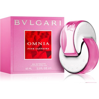 BVLGARI OMNIA Pink Sapphire lady  25ml edt The Jewel Charms Collection