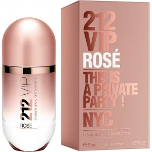 CAROLINA HERRERA 212 VIP Rose lady  50ml edp